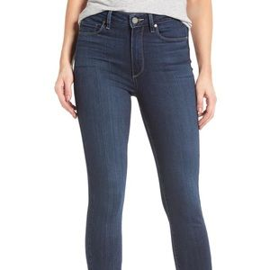 Paige Denim Hoxton High Wasit Ankle Skinny Jeans